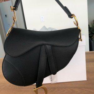 DIOR Christian Dior Mini Saddle Bag  a dior
